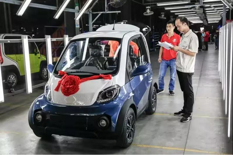 展现中国制造力量!bob棋牌下载奇PM100首批下线,成功进军国际市场!